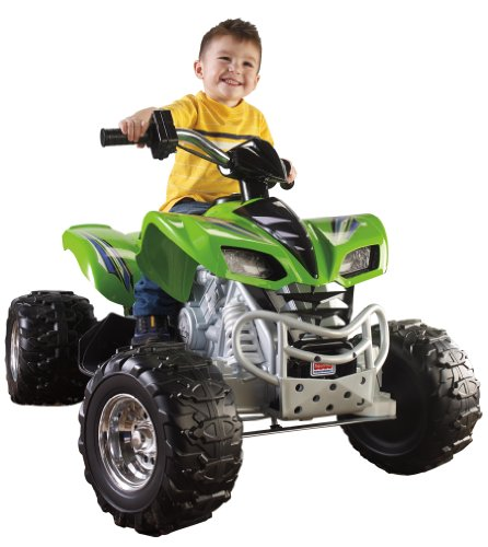 Fisher-Price Power Wheels Green Kawasaki KFX