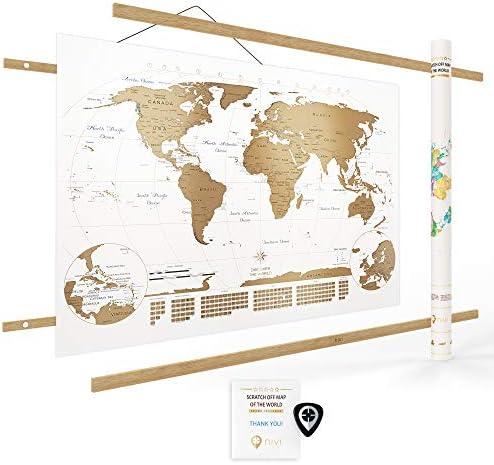 Nivi Maps International Continents Provinces product image