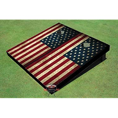 American Flag Custom Cornhole Boards