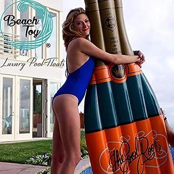 beachtoy colchón hinchable botella de champán Mega Fun Party ...