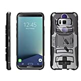 Cheap TurtleArmor | Compatible for Samsung Galaxy S8+ Case | S8 Plus Case | G955 [Hyper Shock] Hybrid Dual Layer Armor Holster Belt Clip Case Kickstand – Classic Game Controller