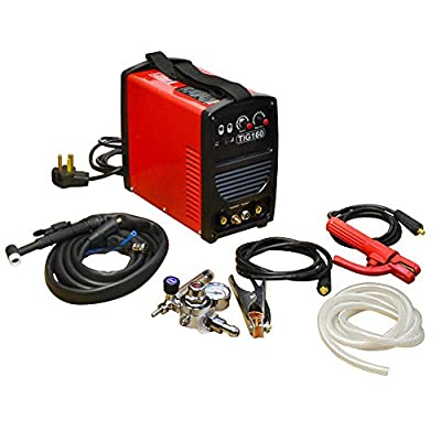 160 Amp Inverter DC Stick Tig Arc MMA Welder Welding High Frequency 240V