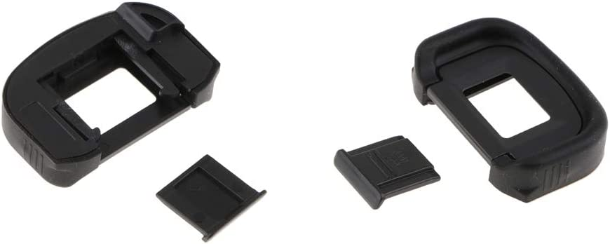 SDENSHI Camera Viewfinder+Hotshoe Cover Fr Canon1D Mark II//5D Mark IV//6D Mark II//80D