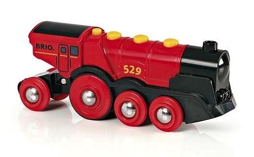 91 opinioni per Brio 33592- Grande Locomotiva a Batterie, Rossa