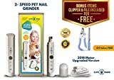 Best Dog Clippers Wirelesses - Cute Paws Dog Pet Nail Grinder -Professional 2 Review