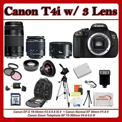 Canon EOS Rebel T4i Cuerpo de la cámara SLR 18MP CMOS 5184 x ...