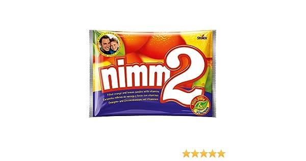 Nimm2 Caramelos Duros de Naranja y Limón Con Vitamina C - 2 Paquetes de 1000 gr - Total: 2000 gr: Amazon.es: Alimentación y bebidas