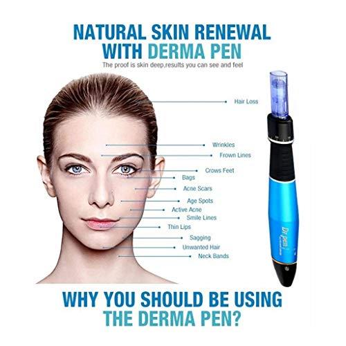 Med SPA Care Dr pen Ultima M5/M7/A1 Rechargeable Skincare System/Dr pen  Tattoo Machine Permanent Makeup Pen ✏ w/Derma Pen Replacement Cartridges  (A1,