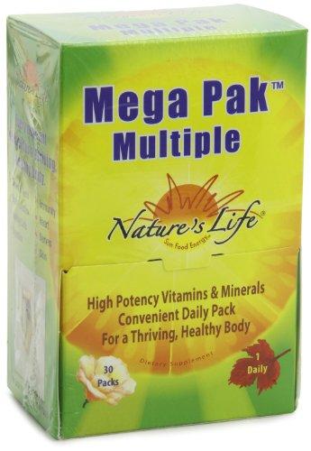 Nature's Life Mega Pak Multiple Mix, 30 Count