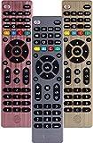 GE Universal Remote Control for Samsung, Vizio, LG, Sony, Sharp, Roku, Apple TV, RCA, Panasonic, Smart TVs, Streaming Players, Blu-ray, DVD, Simple Setup, 4-Device, Graphite, 33711