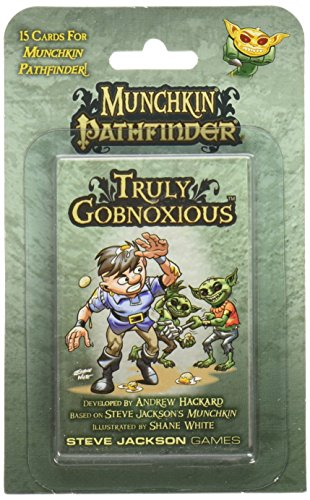 Steve Jackson Games Munchkin Pathfinder: Truly Gobnoxious Card Game (6 Player)