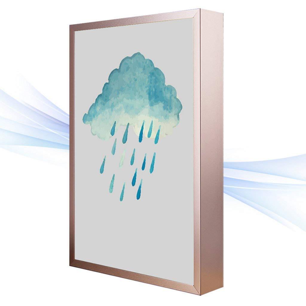 Moderne minimalistische LED-Wasser-Tinten-Wolken-Muster-Wandleuchte Ultradünne Kunst-Schlafzimmer-Nachttisch-Wohnzimmer-Treppenhaus-Gang-Wand-Lampen-Aluminiumlegierungs-Wand-Lampe (Größe  30  40  4.
