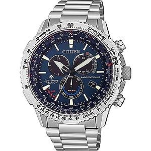 Reloj Radiocontrolado Crono Pilot Super Titanium 7