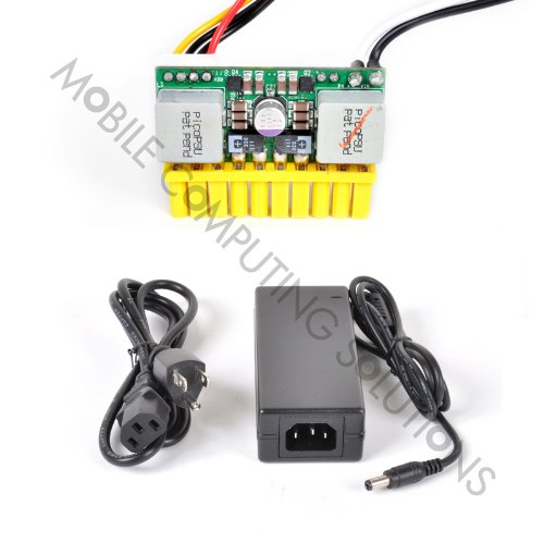 Mini-Box PicoPSU-90 12V DC Input 90 Watt Output + 60W Adapter Power Kit Cyncronix Rating (Motherboard Pentium Desktop M)
