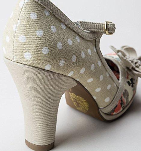 Tanya Ruby Zapatos Natural Natural Shoo Mujer 50qFwU0