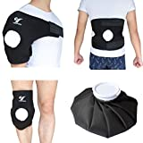 Creatrill Reusable Hot Cold Therapy Ice bag Pack (9