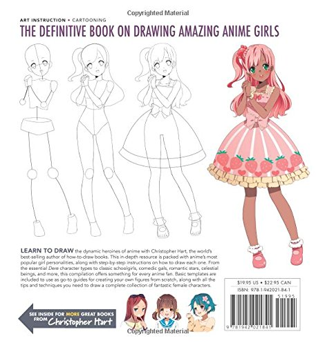 Amazon The Master Guide To Drawing Anime Amazing Girls How Draw Essential Character Types From Simple Templates 9781942021841 Christopher Hart