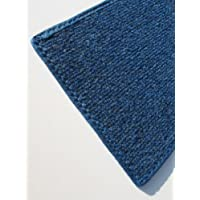 "3X5 - BRIGHT BLUE MULTI - Indoor/Outdoor Area Rug Carpet, Runners & Stair Treads with a Non-Skid Latex Marine backing and Premium Nylon Fabric FINISHED EDGES . Olefin , 3/16"" Thick + Medium Density. MANY SIZES and Shapes. Rectangles, Squares, Circles, Half Rounds, Ovals, and Runners."