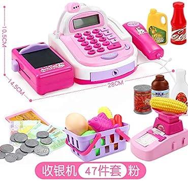 ouyang Caja registradora del supermercado de los niños Caja ...