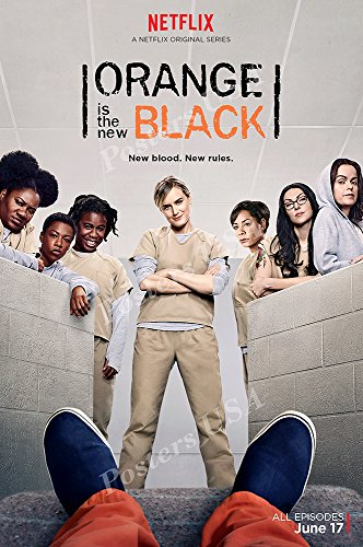 New Tv Show Poster - Posters USA Orange Is the New Black TV Series Show Poster GLOSSY FINISH - TVS245 (24