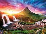 Buffalo Games - Photography - Iceland Sunset - 1000 Piece Jigsaw Puzzle