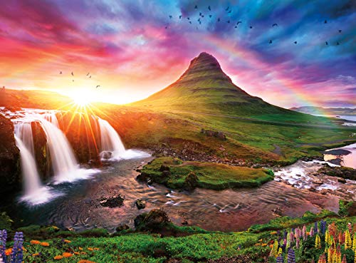 Buffalo Games - Photography - Iceland Sunset - 1000 Piece Jigsaw Puzzle