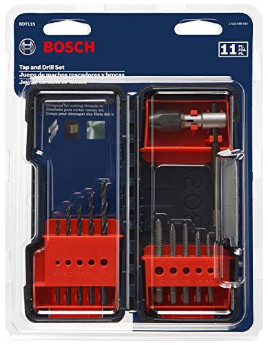 Bosch BDT11S 11Piece Tap & Drill Combo Set