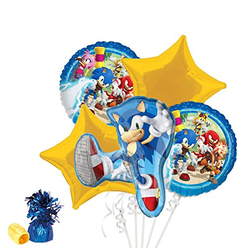 Costume SuperCenter Sonic Boom Balloon Bouquet Kit