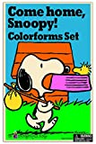 Colorforms Retro Come Home Snoopy Art and Craft Kit
