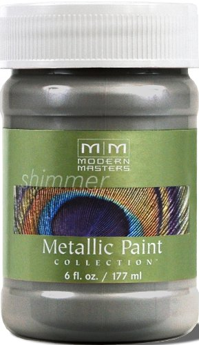 Modern Masters ME209-06 Metallic Pewter, 6-Ounce Faux Finish Furniture