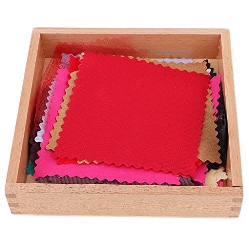 Jili Online Children Kids Montessori Fabric Cloth Box Sensorial Toy for Kids Congnitive