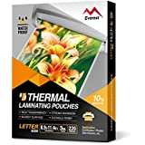 Everest Thermal Laminating Pouches - 8.9 x 11.4 Inches - 3 MIL Thick - 220 Pouches - Letter Size