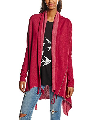 Rouge Femme Urban Ladies Classics 606 Cardigan Gaine Burgundy Terry wHY1UqXY