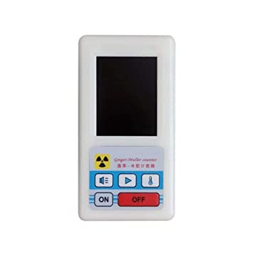 TAOHOU Counter Nuclear Radiation Detector Display Screen Dosimeter Geiger CountersWhite: Amazon.es