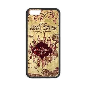 Zheng caseZheng caseAwesome Magic Harry Potter Marauder's Map Hard Case Cover for iPhone 4/4s ''