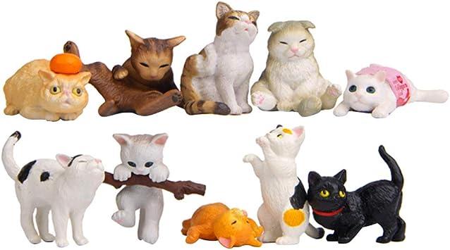 TOYANDONA Mini decoración de Escritorio de Gato para ...