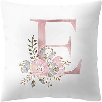 Letter /& word print beige pillows  Word pillows letter pillows beige pillows