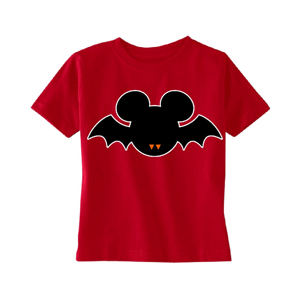 Vampire Cartoon Head Bats TODDLER T-shirt Halloween Costume Funny Kids Mr