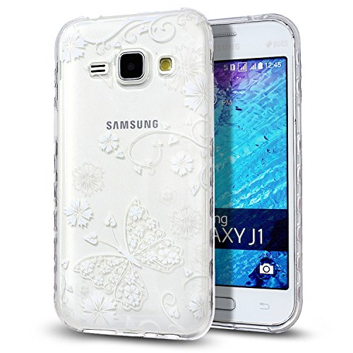 Slim Shockproof Case for Samsung Galaxy J1 (White) - 2