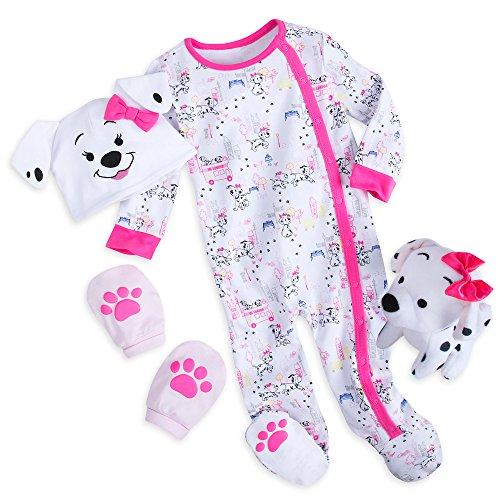Disney 101 Dalmatians Gift Set for Baby - Pink Size 6-9 MO Multi