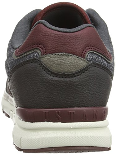 pre order online outlet finishline Mustang Men's Schnürhalbschuh Low-Top Trainer Gray - Grau (259 Graphit) outlet 100% original free shipping ebay zyCi0