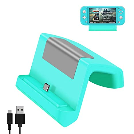 Shumeifang Switch Dock, Base de Carga Mini Portátil para ...