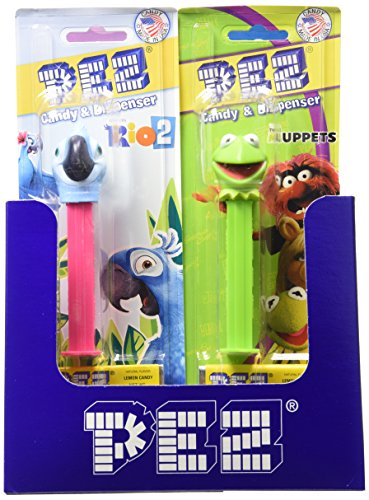PEZ Assortment, Favorites, 0.87 Ounce (Pack of 12)