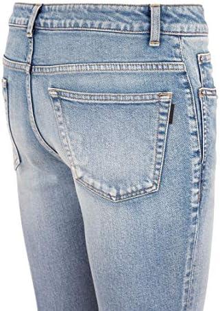 Luxury Fashion | Saint Laurent Dames 606670YO5074741 Blauw Elasthaan Jeans | Lente-zomer 20