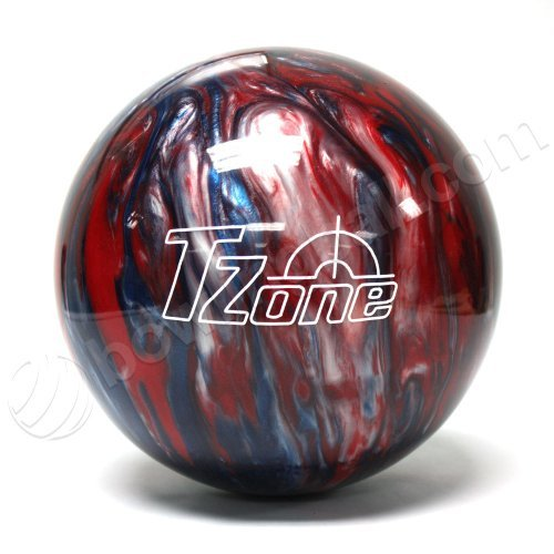 Brunswick TZone Patriot Blaze Bowling Ball (10-Pounds)