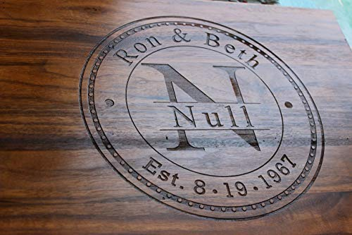 Anniversary Gifts or Wedding Gift - for couple or bride. Personalized Cutting Board, Engagement Gift, Anniversary gifts for Men, Gift for her, Wooden Cutting Board, Present For mom