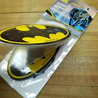 Plasticolor 005499R01 Batman Logo Car Air Freshener  - 2 Pack: Automotive