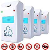 Ultrasonic Pest Repeller repellent indoor pest control devices get rid of rats mice ants roaches mosquitoes insects flea spiders other