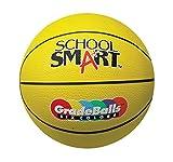 School Smart Gradeballs Rubber Basketball - Junior 27 inch - Yellow