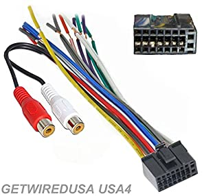 51gHRw6hOLL._SX300_ amazon com dual car audio 16 pin stereo wire harness, radio plug dual xdvd710 wire harness at reclaimingppi.co